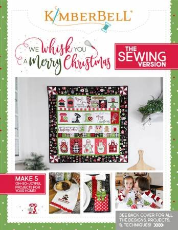 KD WE WHISK YOU A MERRY CHRISTMAS SEWING VERSION BOOK