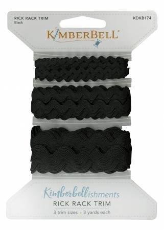 KIMBERBELL RIC RAC TRIM BLACK