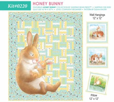 HONEY BUNNY QUILT KIT