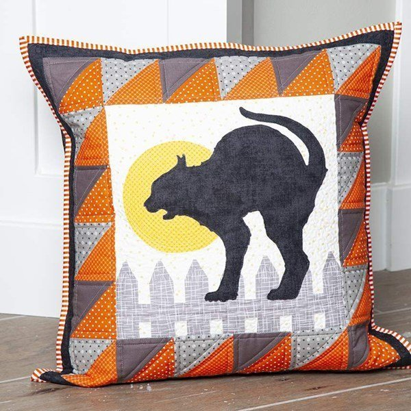 PILLOW OF THE MONTH  OCTOBER - RILEY BLAKE