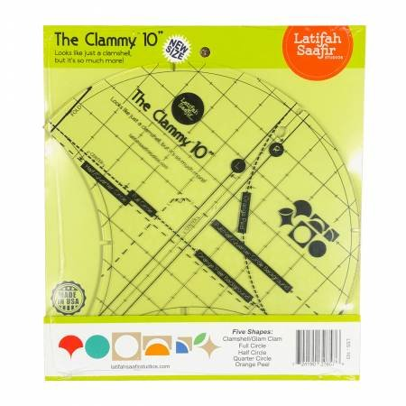 THE CLAMMY 10 RULER