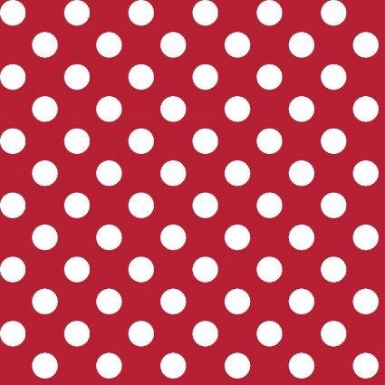 KIMBERBELL BASICS RED WHITE DOT