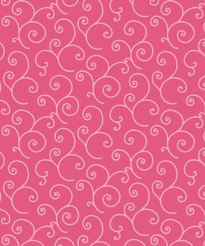 KIMBERBELL BASICS PINK SCROLL