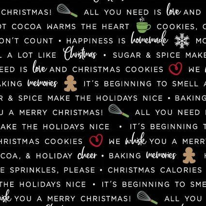 WE WHISK YOU MERRY CHRISTMAS BAKING PHRASES BLACK
