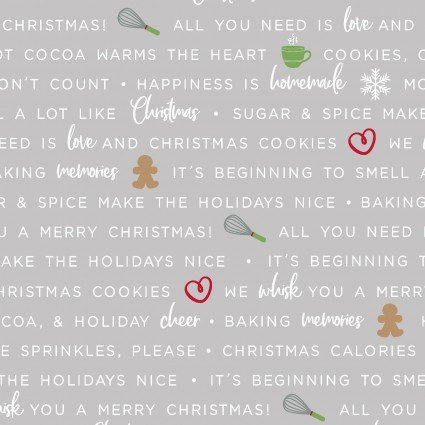 WE WHISK YOU MERRY CHRISTMAS BAKING PHRASES GRAY