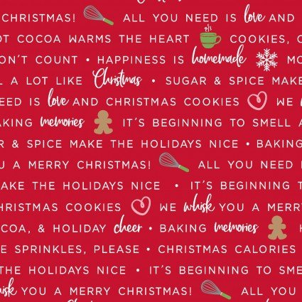 WE WHISK YOU MERRY CHRISTMAS BAKING PHRASES RED