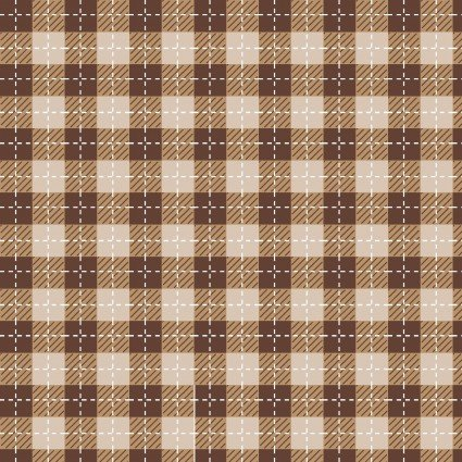 WE WHISK YOU MERRY CHRISTMAS BUFFALO PLAID BROWN