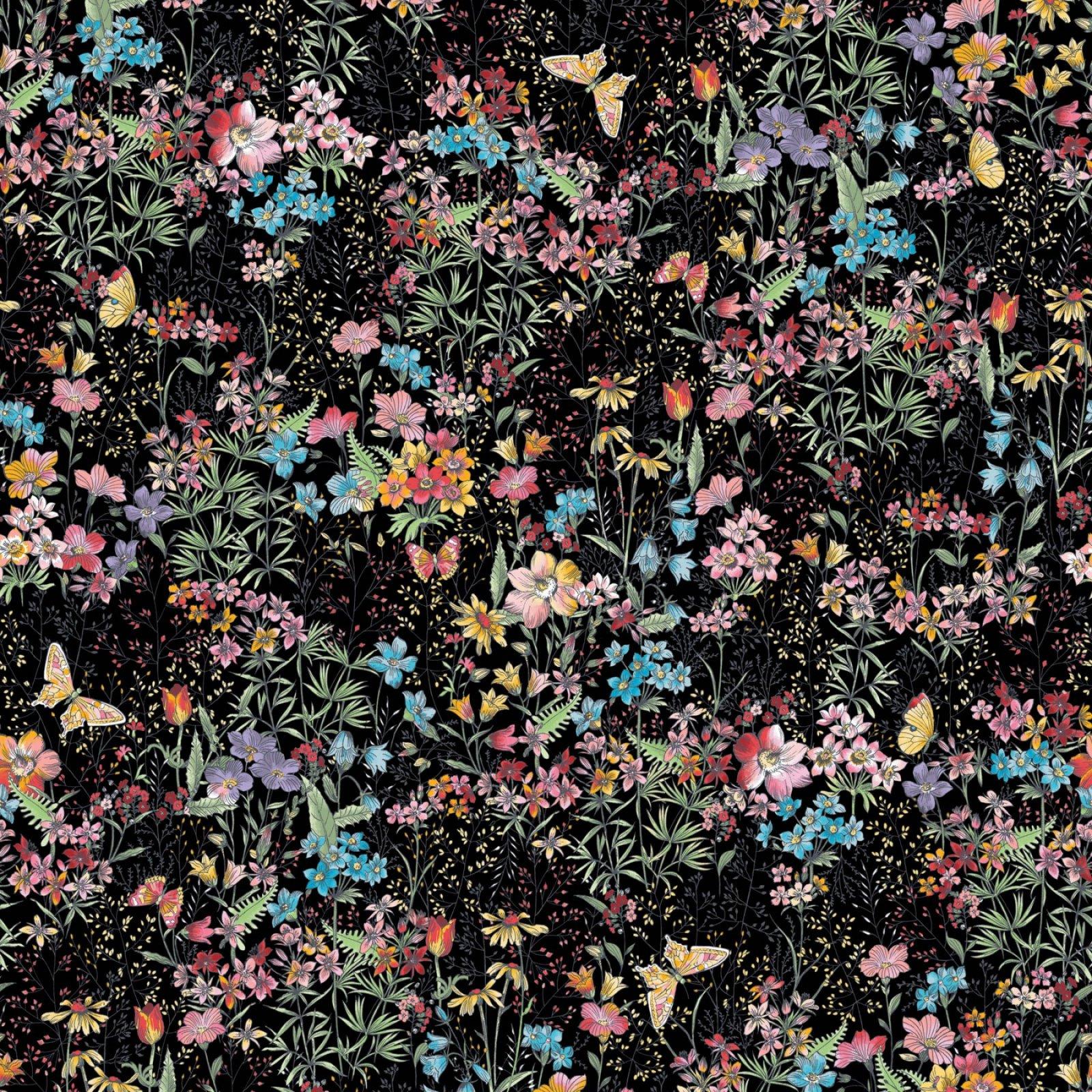 MEADOW EDGE LARGE MEADOW FLOWER BLACK