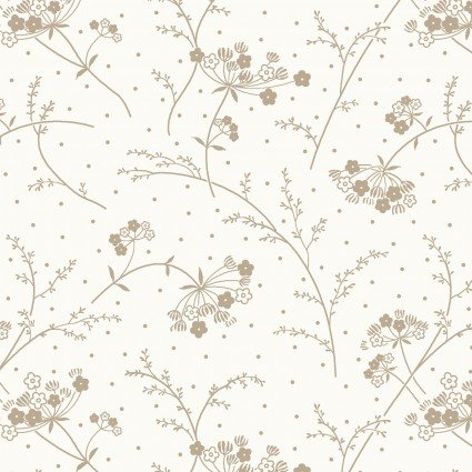 KIMBERBELL QUILT BACKS MAKE A WISH SOFT WHT/TAUPE 108 WIDE