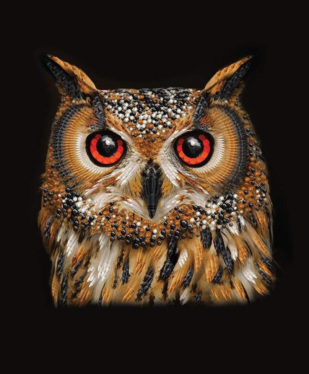 RILEY BLAKE IT'S A CRAYOLA WORLD OWL 36 PANEL