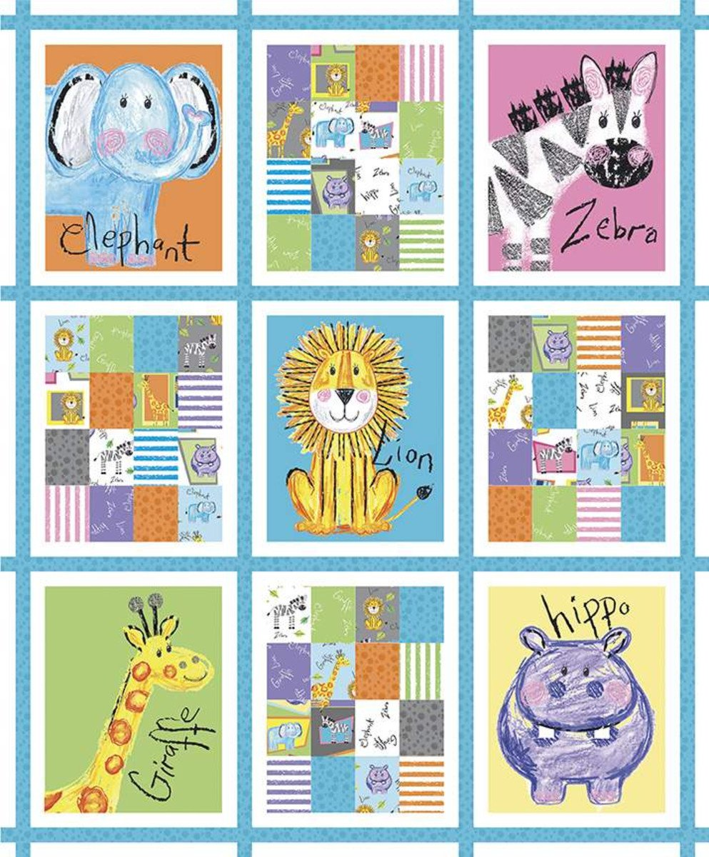 CRAYOLA COLORFUL FRIENDS PANEL