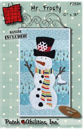 MR. FROSTY PATTERN WITH HANGER INCLUDED