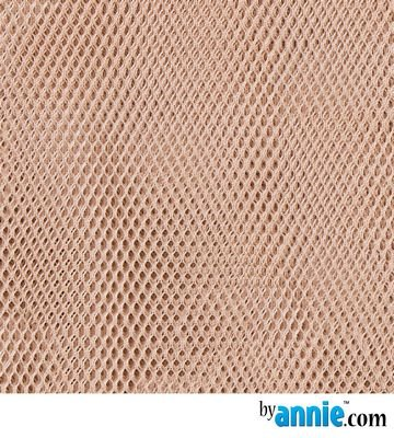 MESH FABRIC NATURAL LT WGT BY ANNIE