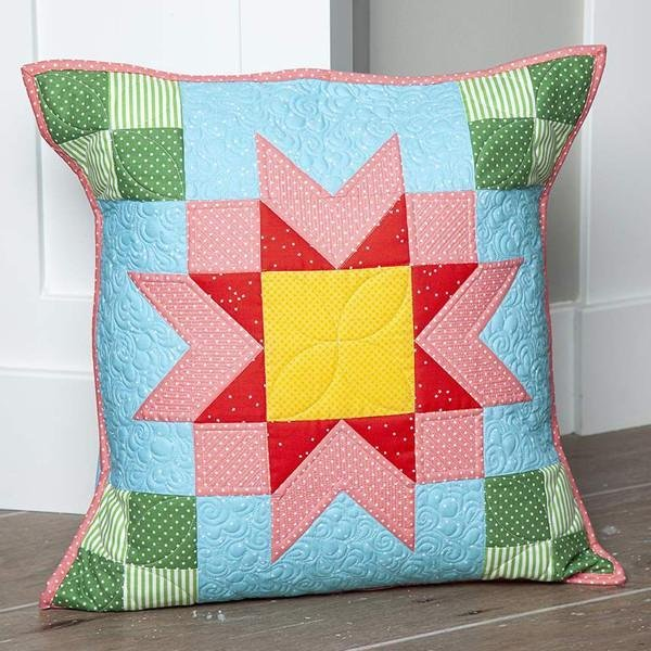 PILLOW OF THE MONTH  KIT - AUGUST - RILEY BLAKE