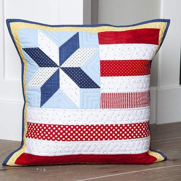 PILLOW OF THE MONTH  JULY - RILEY BLAKE