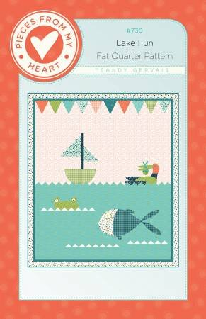 LAKE FUN QUILT PATTERN