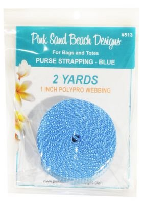 PURSE STRAPPING - BLUE