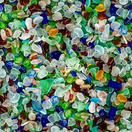 NATURE'S NARRATIVES SPECTRUM PRINT SEA GLASS