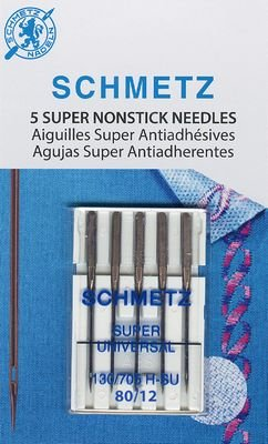 SCHMETZ UNIVERSAL 80/12 SUPER NONSTICK NEEDLES 5 PK