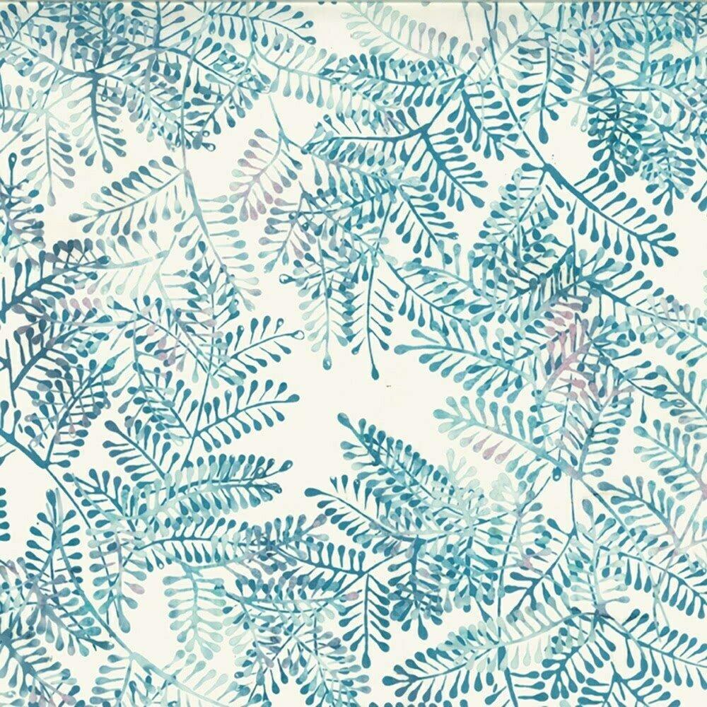 BALI BATIK - FERN DUSTY BLUE