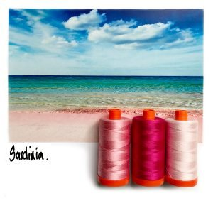 AURIFIL COLOR BUILDER SARDINIA PINK