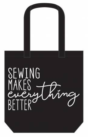 CANVAS TOTE SEWING MAKES EVERYTHING BETTER