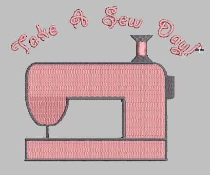 TAKE A SEW DAY EMBROIDERY