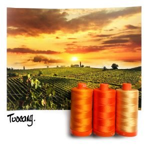 AURIFIL COLOR BUILDER TUSCANY ORANGE