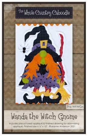 WANDA THE WITCH GNOME PRECUT PATTERN/KIT