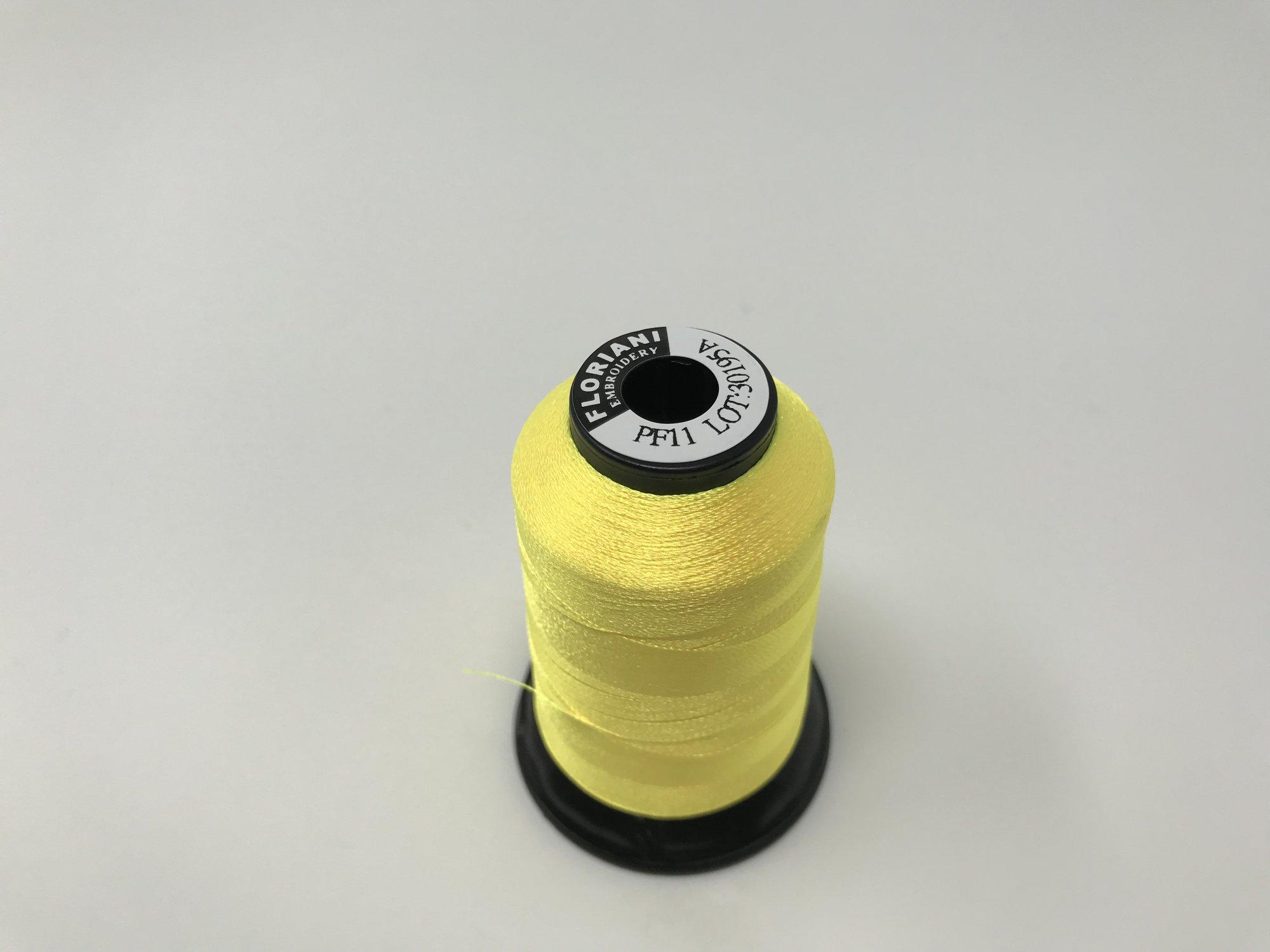 Floriani Thread Chalcedony Yellow