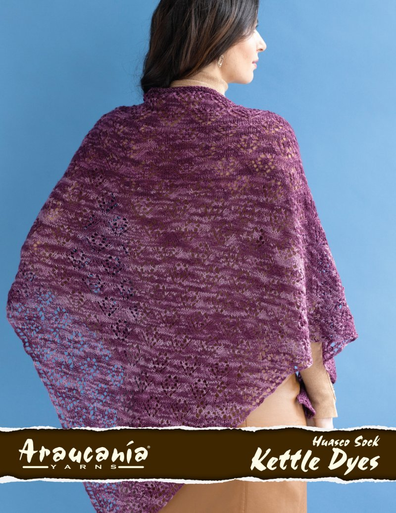 Alani Shawl Kit - Grey