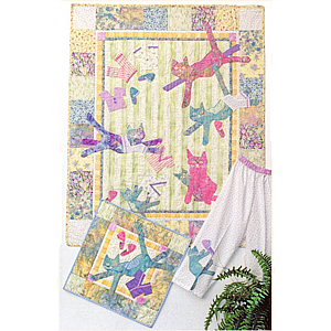 Java House Quilts - Cats 'N Jammies Quilt Pattern