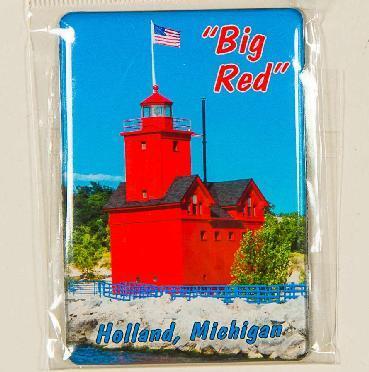 MAGNET BIG RED LIGHTHOUSE