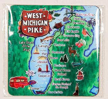 WEST MICHIGAN PIKE MAGNET