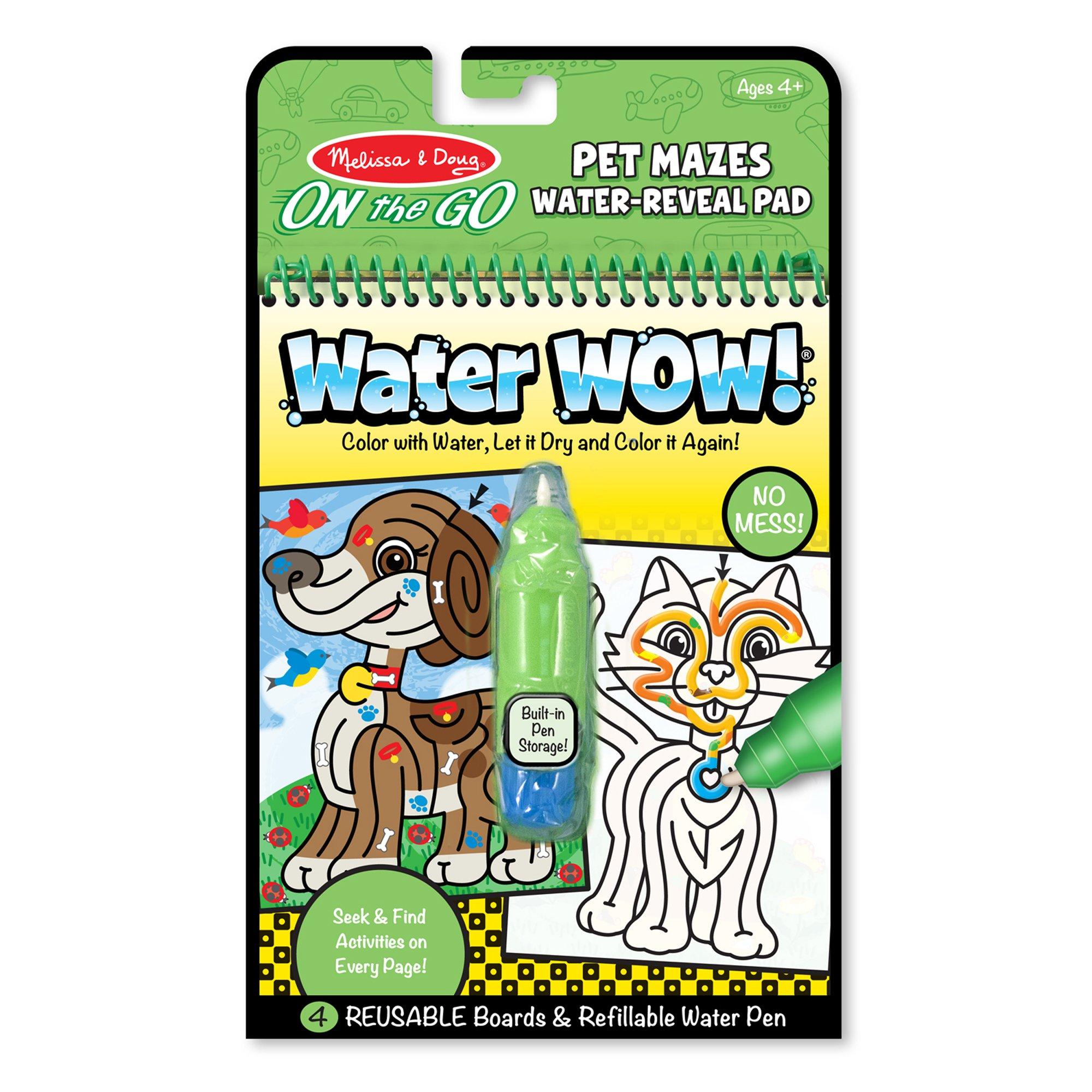 WATER WOW, PET MAZES