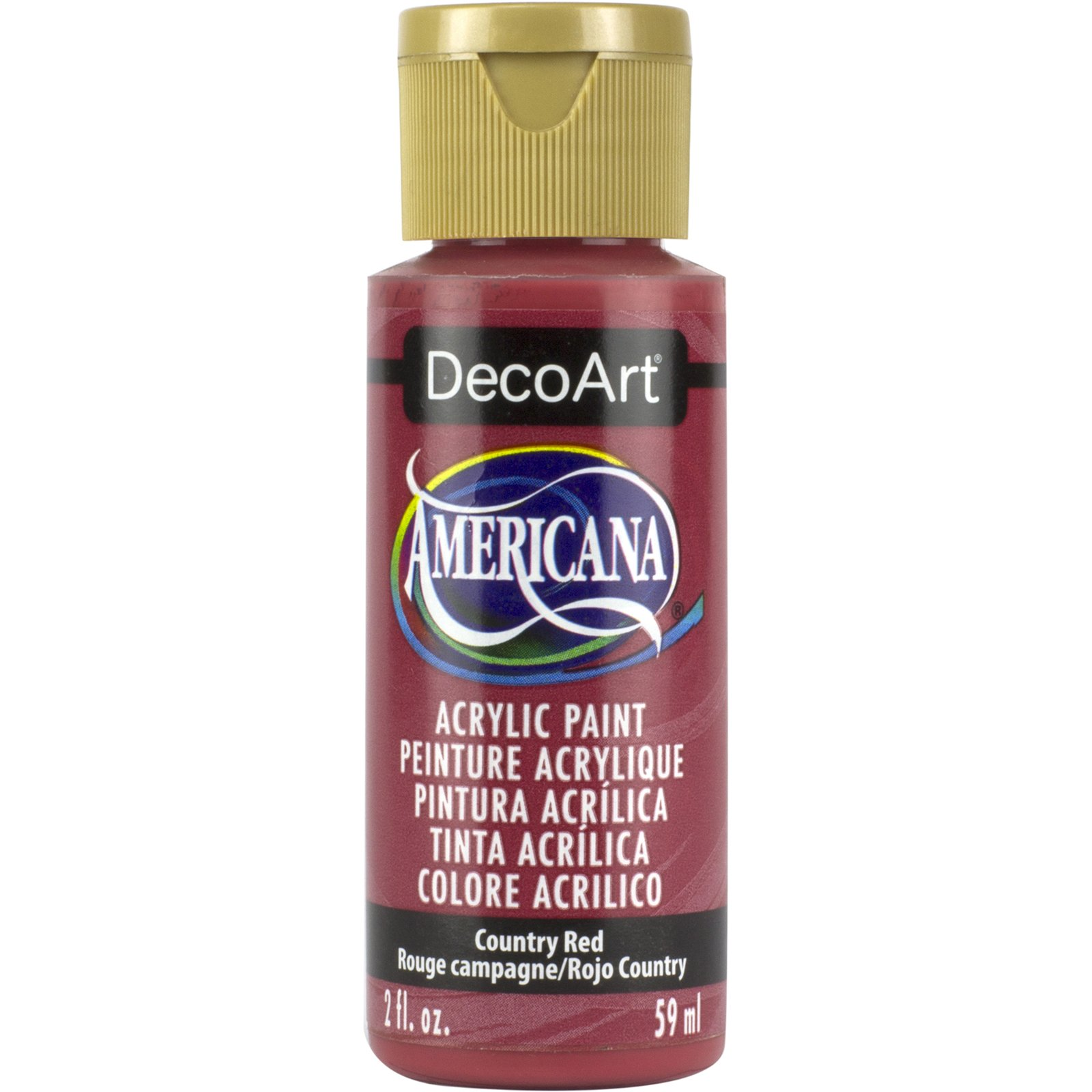 AMERICANA 2OZ COUNTRY RED