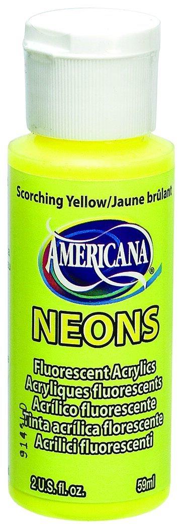 AMERICANA 2OZ NEON SCRCHNG YLW