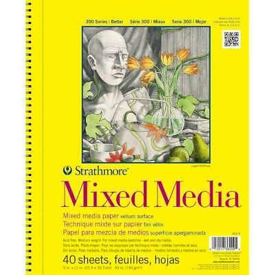 MIX MEDIA 300 40SH 9X12