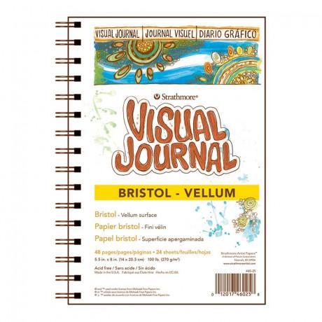 VIS JNL BRSTL VL 5.5X8 48PG/12