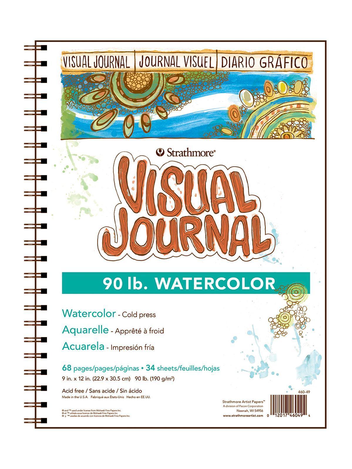 VIS JRNL WCLR 90# 9X12 68PG/6
