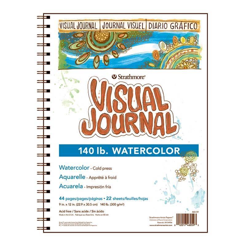 VIS JRNL W/C140# 9X12 44PG/6