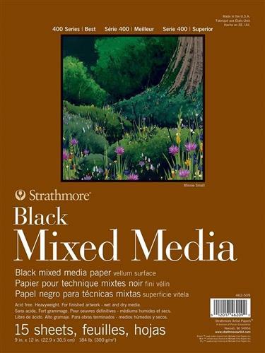 MIX MED BLK 400 15SH 9X12(12)