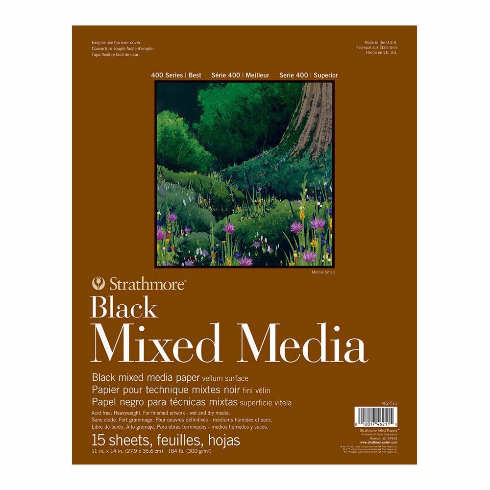 MIX MED BLK 400 15SH 11X14(12)