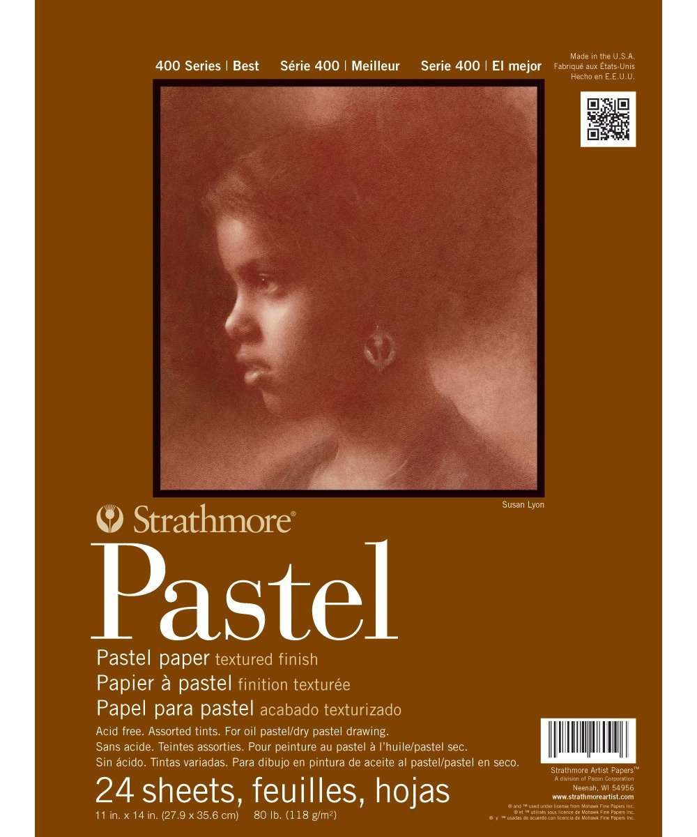 PASTEL 400 AST 11X14 24SH(12)
