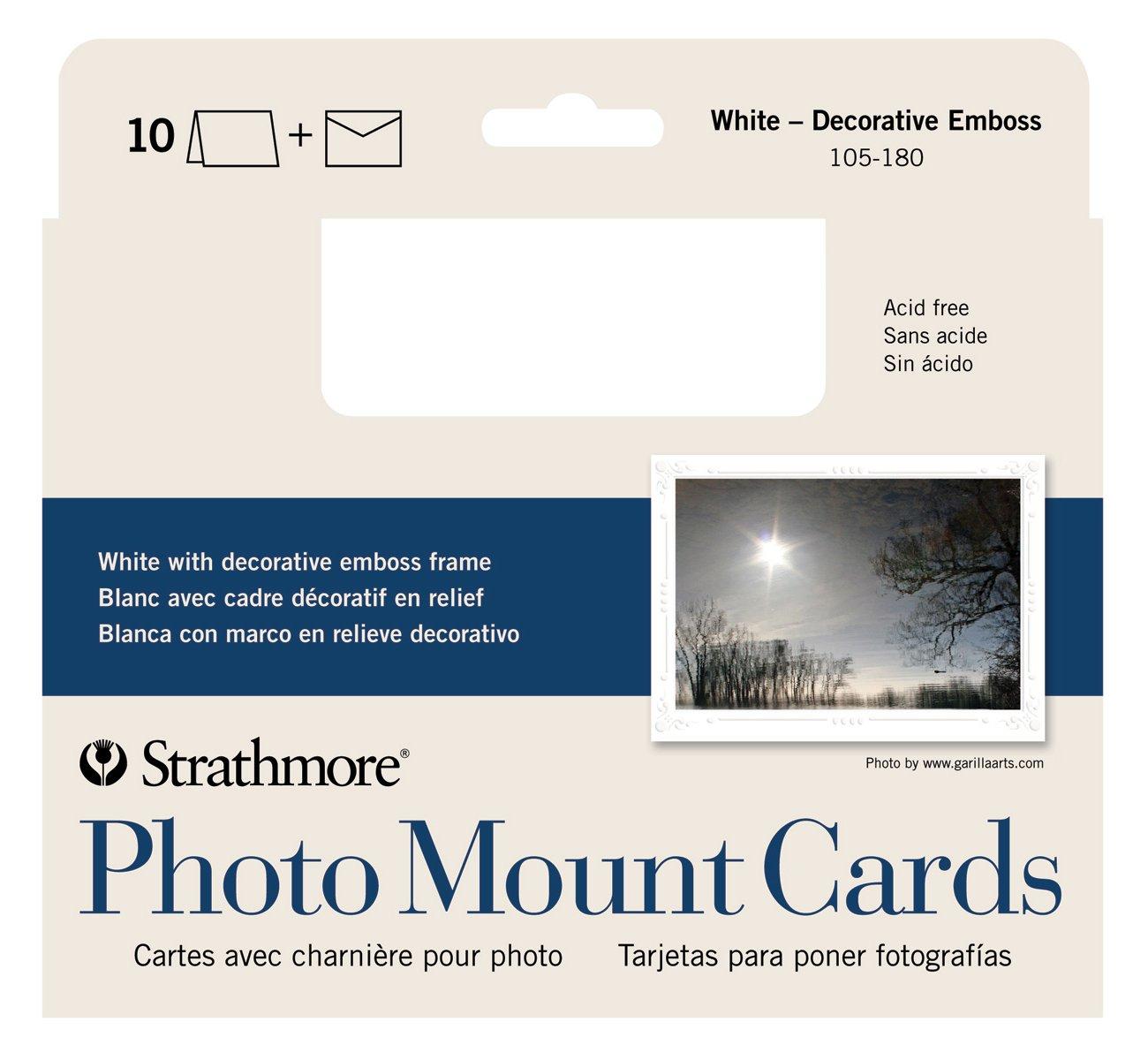 CARD PHOTO WH 10PK 5X7