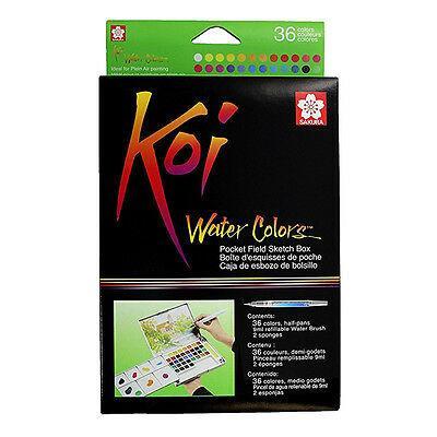 KOI W/C PCKET 36 FIELD SKT BOX