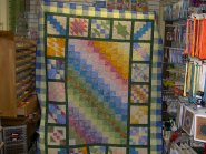 Sleepy Valley Quilt Co. - This quilt was made by Deby King and will available at the