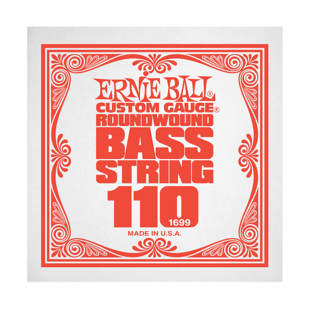.110 Nickel Wound Electric Bass String Single (1699)