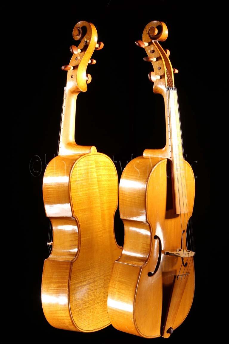 1957 Georg Kelischek 16 5-String Viol