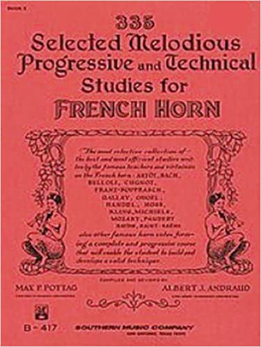 335 Selected Melodious Progressive & Technical Studies for French Horn - Book 2